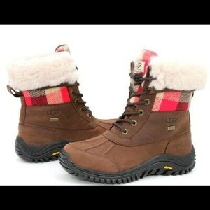 Ugh Adirondack II Plaid Stout Waterproof Boots 5